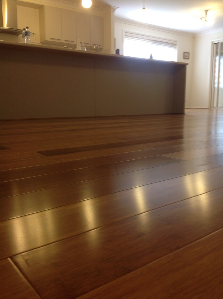 how to clean bamboo laminate floors